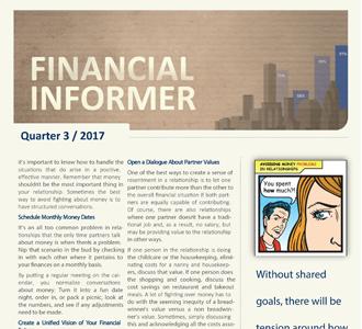 Vanguard Financial Informer - Third Quarter 2017
