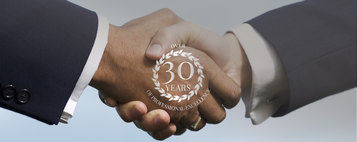 Over 30 years of professional excellence