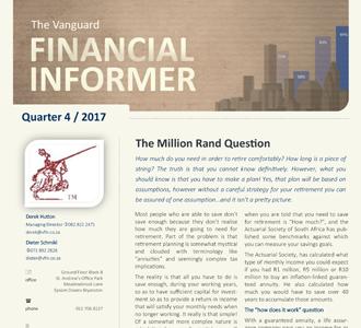 Vanguard Financial Informer - Fourth Quarter 2017