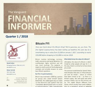 Vanguard Financial Informer - First Quarter 2018