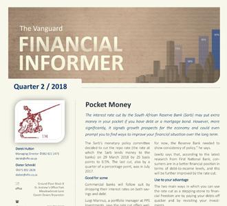 Vanguard Financial Informer - Second Quarter 2018