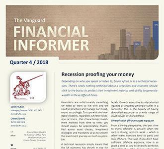 Vanguard Financial Informer - Fourth Quarter 2018