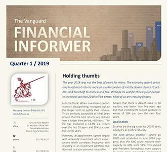 Vanguard Financial Informer - First Quarter 2019