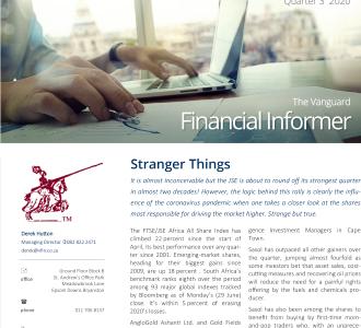 Vanguard Financial Informer - Q3 2020