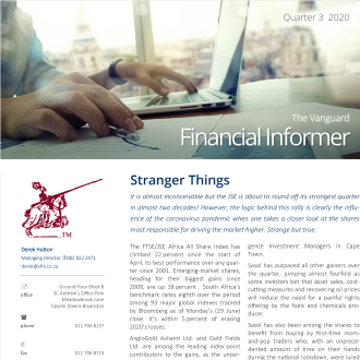 Vanguard Financial Informer - Q3 2020