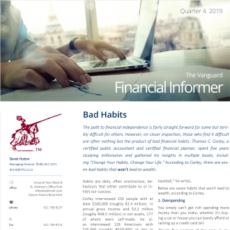 Vanguard Financial Informer - Q4 2019