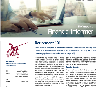 Vanguard Financial Informer - Q1 2021