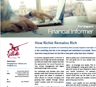 Vanguard Financial Informer - Q2 2021